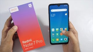 Redmi Note 7 Pro Unboxing & Overview with 48MP Camera