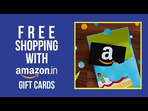 Free Amazon India Shopping: Get Free Amazon India Gift Cards whenever you shop online (2018)