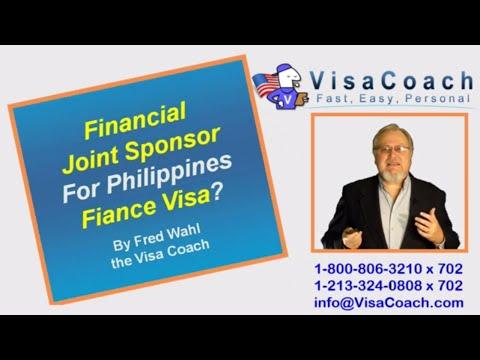Fiance Visa Joint Sponsor for Philippines K1 Visa