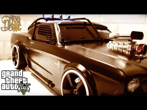 RC DRIFT CAR - ARMORED MUSTANG inspired by GTA 5