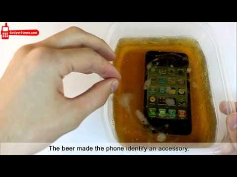 Stress test iPhone 4