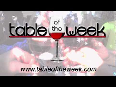 Table of the Week - Preview 2012