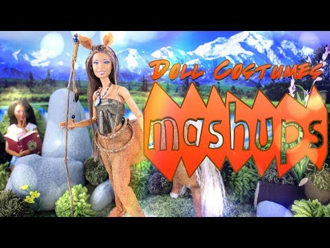 Mash Ups: DIY Doll Costume Crafts | Unicorn Horn | Star Wars Jedi | Masks & More