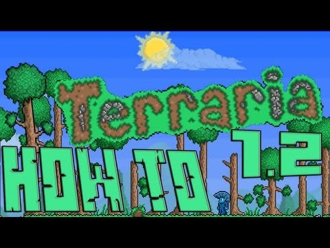 Terraria 1.2 How to Find and Use!: FLYING CARPET!