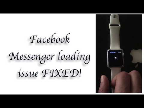Apple Watch Messenger issue FIXED!