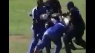 """Worst Cricket Fight Ever"" in Bermuda 2015 
