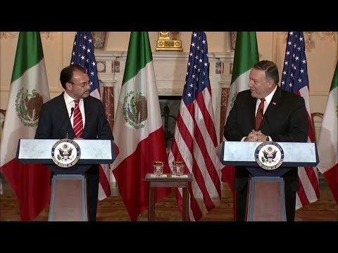 Joint Statements with Mexican Foreign Secretary Luis Videgaray