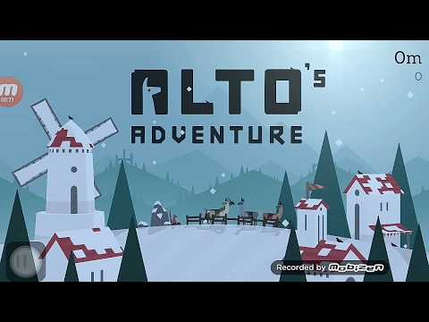 Alto's Adventure wingsuit purchase |Game Play | - how to use wingsuit