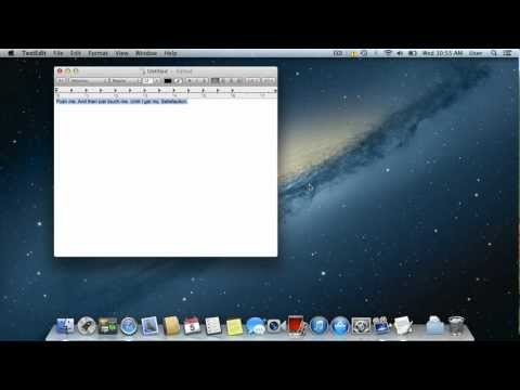 How to Use Text to Speech Function in Mac