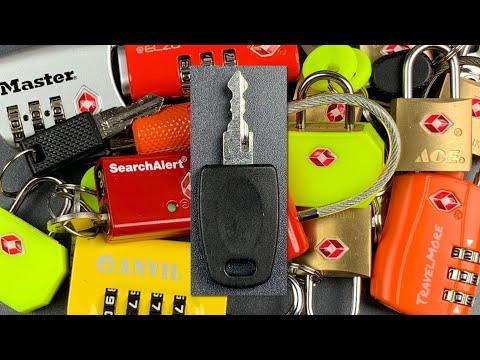 [795] TSA Master Keys — Why You Should NEVER Use Travel Locks (Except on Luggage)