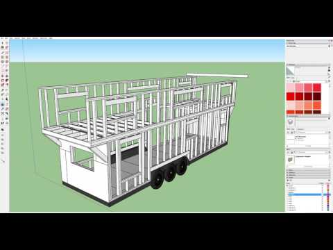 Part 7   Designing a Tiny House in Sketchup