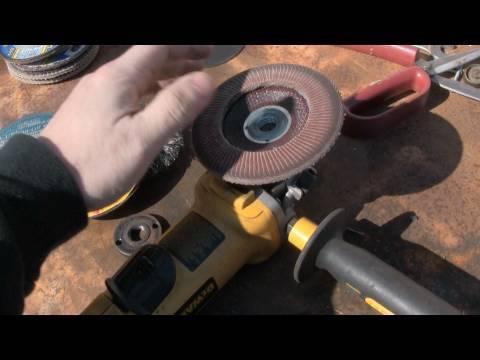 angle grinder art welding basics for noobs