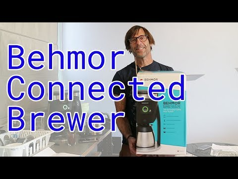 The Behmor Connected Brewer - An Overview