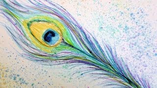 How To Draw A Peacock With Beautiful Feathers Step By Step For Kids