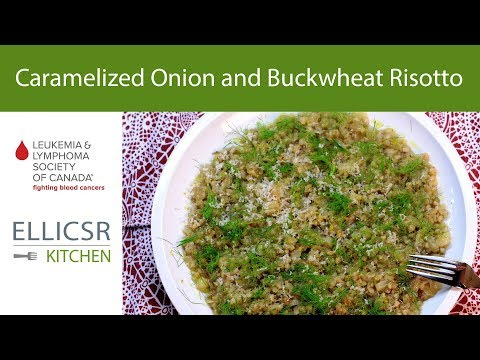 Caramelized Onion and Buckwheat Risotto