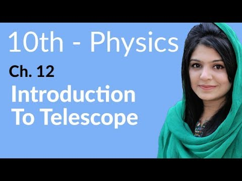 10th Class Physics Ch 12,Introduction to Telescope-Matric Physics book 2 Chapter 12