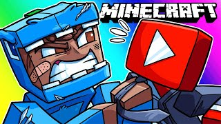 Minecraft Funny Moments - The Adventure for Ad Revenue! (Fanmade Map)