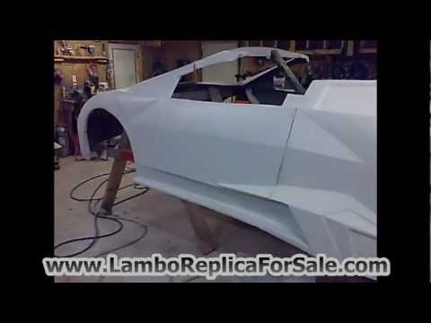 Lamborghini Reventon Replica Kit Car Body For Sale on Ebay! Rarer Than Aventador LP700