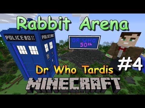 Minecraft Tardis Build - Doctor Who 50th Anniversary