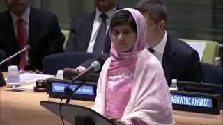Malala Yousafzai speech at the United Nations Youth General Assembly July 12, 2013 (Complete)