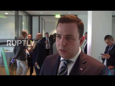 Germany: European politicians denounce sanctions against Russia from Dresden