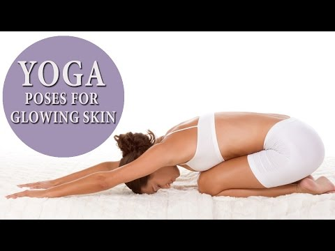 5 Powerful Yoga Asanas For Glowing Skin | Anti Aging Yoga Poses | Look Younger And Beautiful