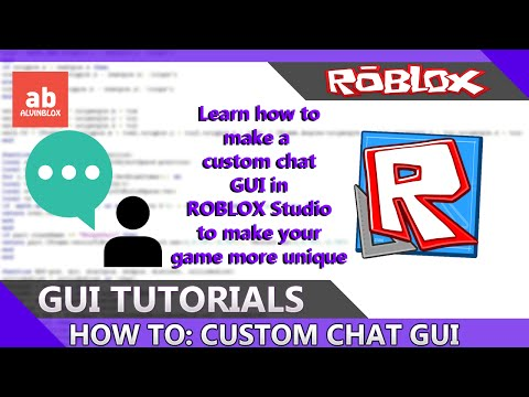 ROBLOX - How To Make A Custom Chat GUI [IMPORTANT - READ DESC]