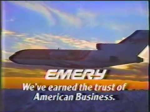 1984 EMERY Courrier services short version Commercial