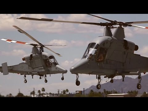 Kaman K-MAX Helicopters to be used by the Marine Corps