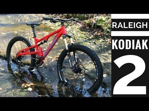 Raleigh Kodiak 2 Full Suspension Mountain Bike