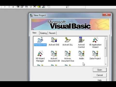 how to create splash screen in vb6