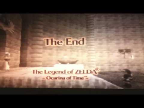 Loz, Ocarina of Time: Ending Easter Egg
