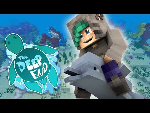 HOLY MOLY! DOLPHINS! - Minecraft The Deep End SMP - Ep.1