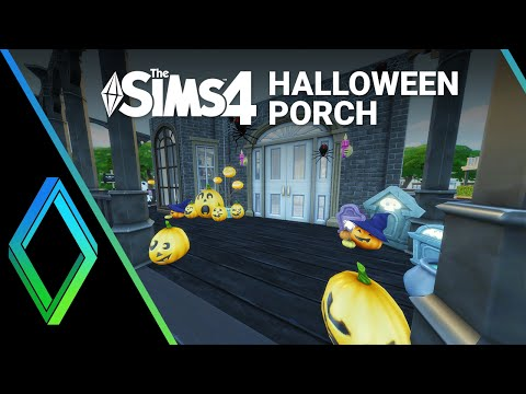 The Sims 4 Room Build - Halloween Porch