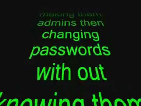 YouTube   hacking admin accounts and passwords cmd full view