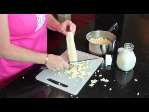 Creamed-Style Corn With Milk : Easy Southern Cooking