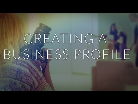 How to Make a Commercial Business Profile | Freelance Making Commericals