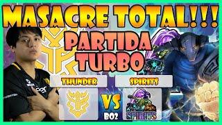 THUNDER PREDATOR VS SPIRITS BO2[GAME 1] DOTA SUMMIT ONLINE 13:AMERICAS - DOTA 2 PRO