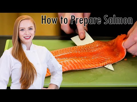 How to Prepare Salmon: De-skin, De-bone and Fillet