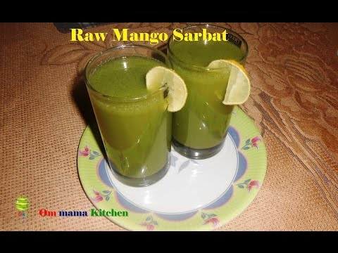 Raw Mango Sharbat ( कच्चे आम शरबत)