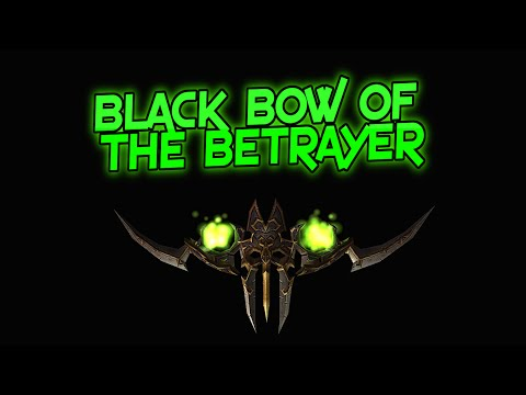 Best WoW Transmog Ep.8: Black Bow of the Betrayer