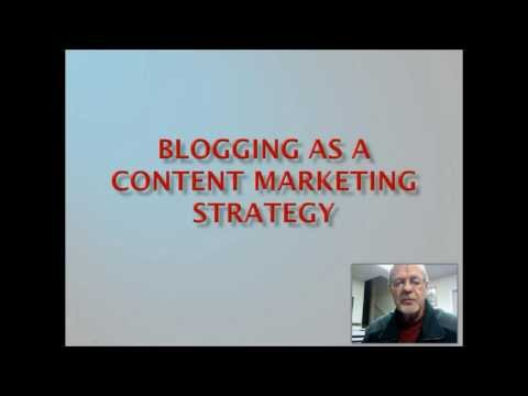 Content Marketing Strategy | Blogs and Blogging