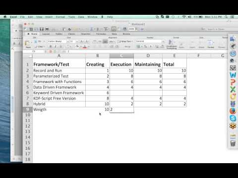Creating a Keyword Driven Framework using Selenium, WebDriver and Java 1 - Intro and Planning
