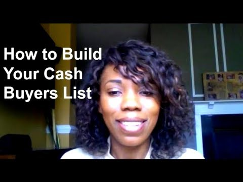 How to Find Cash Buyers for Real Estate | How to Find Cash Buyers for Real Estate Wholesaling
