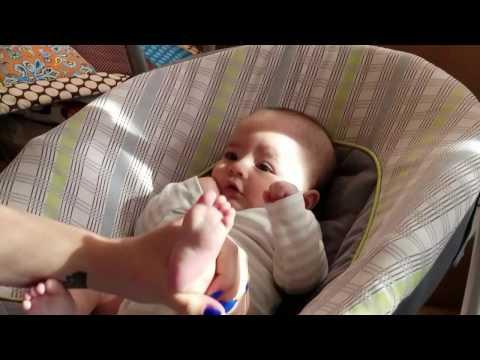 Baby Footprint Christmas Ornament