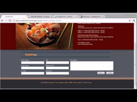 How To Add A Form To Your Website