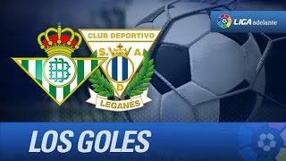 Todos los goles de Real Betis (1-3) CD Leganés