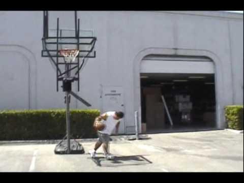 Automatic Basketball Rebounder: Basketball Funnel Basketball Return System