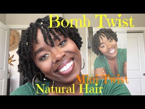 BOMB Mini Twist | Natural Hair| Spring Twist
