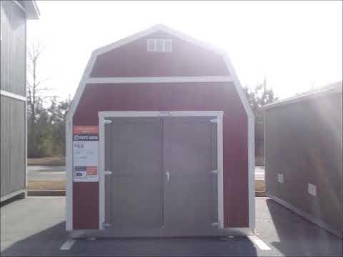Home Depot sheds